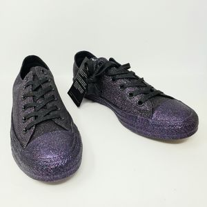 Converse All Star Purple Glitter Chucks Sneakers